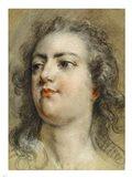 Head of King Louis XV Art Print