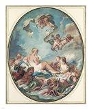 The Birth and Triumph of Venus Art Print