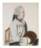 Portrait of Charles-Benjamin de Langes Art Print