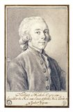 Portrait of Nicolas Michel Cury Art Print