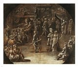 Marriage of a Patrician Couple Art Print