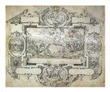 The Destruction of Pharoah's Army Art Print