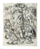 Orpheus Charming the Animals Art Print