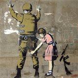 Bethlehem Wall Graffiti Art Print