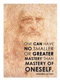 Mastery of Oneself Art Print