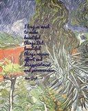 Beautiful Things - Van Gogh Quote 1 Art Print