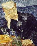 At the Beginning - Van Gogh Quote 1 Art Print