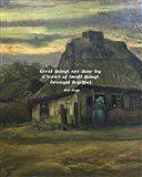Great Things -Van Gogh Quote 6 Art Print