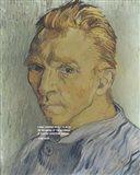 At the Beginning - Van Gogh Quote 2 Art Print