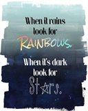 Look for Rainbows Art Print
