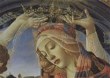 Madonna of the Magnificat (detail) Art Print