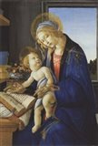 Madonna of the Book, 1480 Art Print