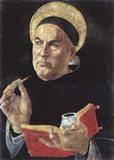 St. Thomas Aquinas Art Print