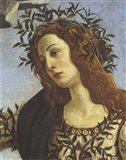 Figure of Minerva (detail) Art Print