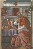 Saint Augustine in his Cell Art Print
