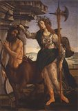 Pallas Athena and the Centaur, 1482 Art Print