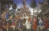 The Temptation of Christ, 1481-1482 Art Print