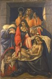 Lamentation Over the Dead Christ Art Print