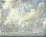 Cloud Study, 1821 Art Print
