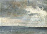 Study of Sea and Sky Art Print