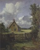 Cottage in a Cornfield, 1833 Art Print