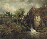 Parham's Mill, Gillingham, Dorset Art Print