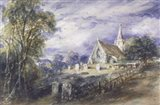 Stoke Poges Church Art Print