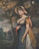 The Right Honourable Lady Louisa Manners Art Print