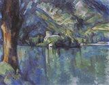 Annecy Lake, 1896 Art Print