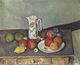 Still Life with Milk Jug and Fruit Art Print