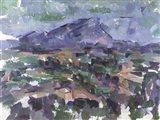 Montagne Sainte-Victoire, 1904-06 Art Print