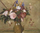 Flowers in a Vase, 1886 Art Print