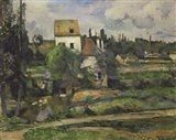 Landscape in Auvers Art Print