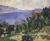 View of Mount Mareseilleveyre and the Isle of Maire Art Print