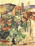 Village of Gardanne, 1885 Art Print