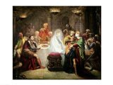 The Ghost of Banquo Art Print