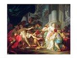 The Death of Seneca, 1773 Art Print