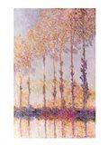 Poplars on the Banks of the Epte, 1891 Art Print
