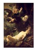 The Sacrifice of Abraham, 1635 Art Print