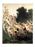 The Oreads, 1902 Art Print