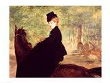 The Horsewoman, 1875 Art Print