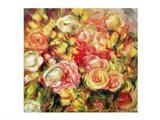 Roses, 1915 Art Print