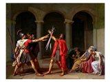 The Oath of Horatii Art Print
