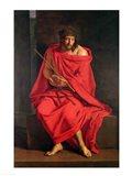 Jesus mocked Art Print