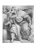 The Prophet Ezekiel, after Michangelo Buonarroti Art Print