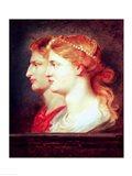 Tiberius Art Print