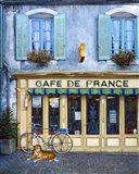 Cafe De France Art Print
