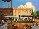Kansas City Cable Railway Art Print