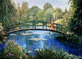 Monet Garden II Art Print