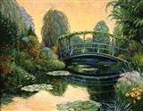 Monet Garden III Art Print
